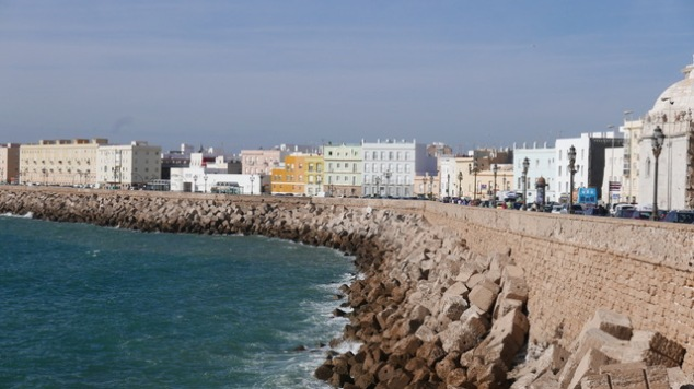 Cadiz sea wall