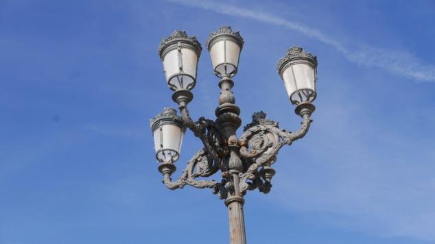 Cadiz streetlamp