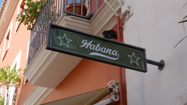 Habana sign