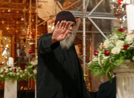 Objecting priest