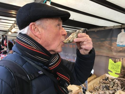 Oyster taste