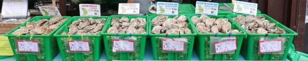 Oysters for sale