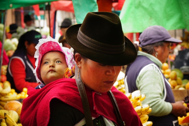 Guamote mother and child