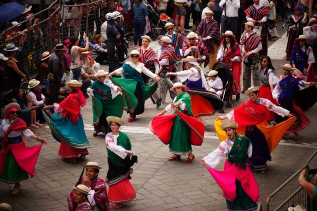 Overhead dancers